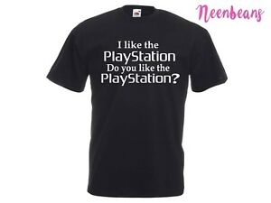 STILL GAME Scottish Comedy Chat Up Line 'Do You Like The Playstation?' T-Shirt