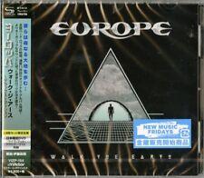 EUROPE-WALK THE EARTH-JAPAN SHM-CD+DVD Ltd/Ed L60