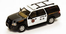River Point Station HO 538760777 2007 Ford Expedition EL K-9 Police Sheriff. New