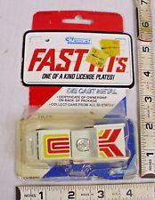 KENNER FAST 111'S EVIL EYE CUSTOM CAR STILL WITH CARD 1979