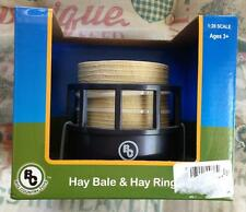 Big Country Toys Hay Bale & Hay Ring #410 1:20 scale