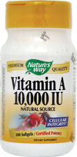 Vitamin A 10,000 IU, Nature's Way, 100 capsules