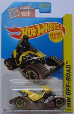 2015 Hot Wheels HW OFF-ROAD Snow Stormer 110/250 (Yellow Version)