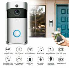 Intelligent HD Wireless WIFI Video Intercom Door Phone Doorbell Motion 32GB P2P