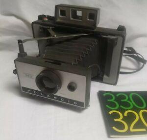 Rara Polaroid Land Camera 320 anni '60 Soffietto Macchina Fotografica - Vintage