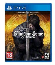 Kingdom come Deliverance Special Edition Ps4 Playstation 4 Deep Silver