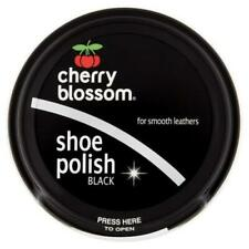 Cherry Blossom Traditional Shoe Polish Paste 50ml - Smooth Leathers Black