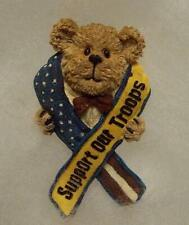 Boyds Bear Magnet (Made From Pin) Support Our Troops