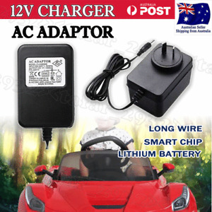 1000mA 12V AC Adaptor Battery Charger For Kids Electric Ride On Car Bike Scooter