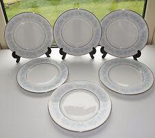 Royal Doulton Fine Bone China Meadow Mist 6 x Dessert Plates 20cm diameter H5007
