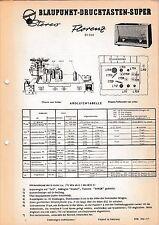 Service Manual-Anleitung für Blaupunkt Florenz 20350