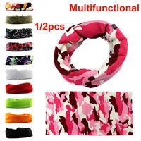 Outdoor Sport Tube Scarf Bandana Head Face Mask Snood Headwear Cycling Headbands