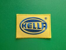 MOTOR RACING OILS, FUELS & TYRES SEW ON / IRON ON PATCH:- HELLA
