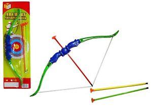 Junior Archery Bow and Arrow Game Set Toy Fun for Kids Children Garden Outdoor