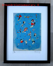 Kandinsky Lithographie Signed Numbered on 150, Certificat Edition CADRE INCLUS