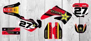 Honda CR85 GRAPHICS KIT 2003 - 2012  Customised motocross graphics All Years MX