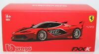 Burago - 1/43 Scale diecast - 18-36906 - Ferrari FXX-K #88 Red & Black