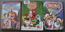 New 3 Yo Gabba Awesome Christmas 12 Days All Dogs Christmas Carol Kids DVD