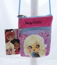 Funky Dolls mini SAC ENFANT -ROSE- motif fille - 12 X 9,5 cm-NEUF