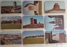 (9) VINTAGE 1961 SALADA HISTORIC CANADA PICTURE CONTEST CARDS         (INV10858)