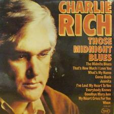 Charlie Rich(Vinyl LP)Those Midnight Blues-Hallmark-SHM 861-UK-VG+/VG+