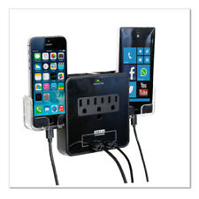 RND Power Solutions Wall Power Station includes 3 AC Plugs and 2 USB ports