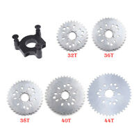 "32/36/38/40/44T Sprocket CNC Adapter 415 Chain 1.5"" For 60cc 80cc Motorized Bike"