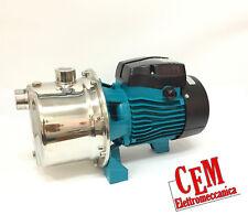 Elettropompa autoclave AJm75S hp 1 + Presscontrol elettrico Pompa INOX acqua 220