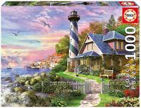 Faro en Rock Bay puzzle 1000 piezas Educa 17740