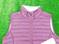 Kjus Ladies Cypress Down Vest Purple 36/Small New