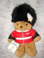 England Handcrafted Buckingham Teddy Bear - Nice Gift New With Tag