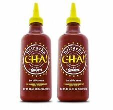 Sriracha Cha Texas Pete Hot Chili Sauce 2 Bottle Pack