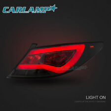 LED Tail Lights For Hyundai Accent 2012-2017 Sedan Rear Lights Smoked Tinted