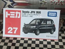 TOMICA #27 TOYOTA JPN TAXI 1/62 SCALE NEW IN BOX