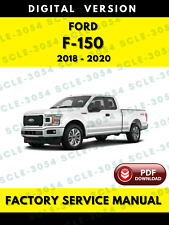 Ford F150 2018 2019 2020 F-150 Factory Service Repair Workshop Manual