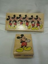 Mickey Mouse Marching Rubber Stamp Disney Rubber Stampede and im mickey lot of 2