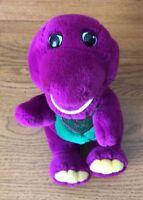 "11"" Barney Singing the ""I LOVE YOU"" Song Purple Dinosaur Plush Stuffed Animal"