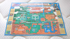 Carte d'Hyrule du jeu The Legend of Zelda - A Link to the Past - FRA - SNES