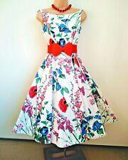 Monsoon Meadow fifties style retro/revival dress size 8