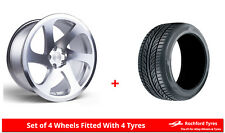 "Alloy Wheels & Tyres Wider Rears 18"" 3SDM 0.06 + 2254518 & 2554018 Tyres"