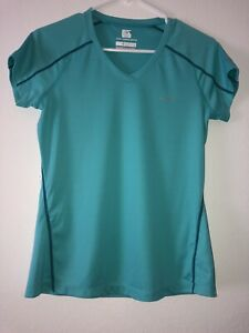 Columbia Women's Small Active Shirt Aqua