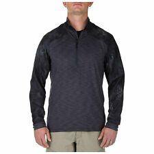 5.11 Tactical Men's Rapid Half Zip Long Sleeve Shirt, Moisture Wicking, # 72444