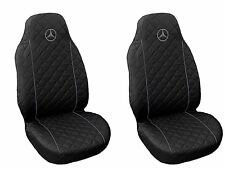 Front Seat Covers Mercedes A , B , C ,E class Vito  Viano , Sprinter GREY PIPING