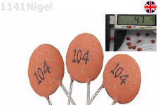 100nF / 0.1uF Ceramic Disc Capacitor (104)  50V  UK SELLER