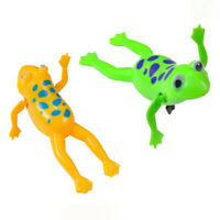Funny Frog Bathroom Toy Clockwork Wind Up Swimming Frog Bath Toy Kids Baby Toys
