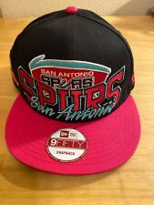Retro San Antonio Spurs Pink New Era 9FIFTY NBA Snapback Hat