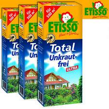 Frunol Delicia Etisso 3 x 250 ml Total Unkraut- Ultra