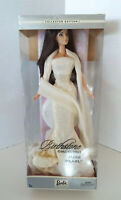 Barbie Birthstone Collection June Pearl 2002 Collector Ed + Stand C5324