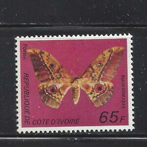 IVORY COAST - 446C - MNH - 1977 - BUTTERFLY - IMBRASIA ARATA