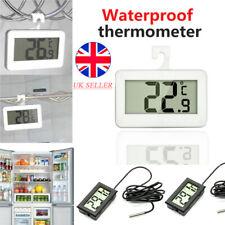 1-5X Digital LCD Refrigerator Thermometer Aquarium Fridge Freezer Sensor Indoor